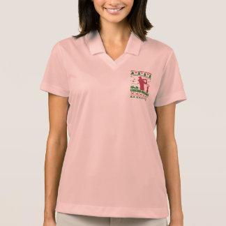 Golf Ugly Christmas Polo Shirt