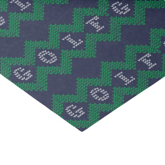 Golf Ugly Christmas Tissue Paper