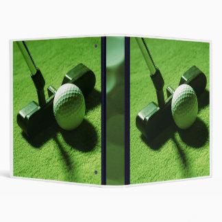 Golf Vinyl Binders