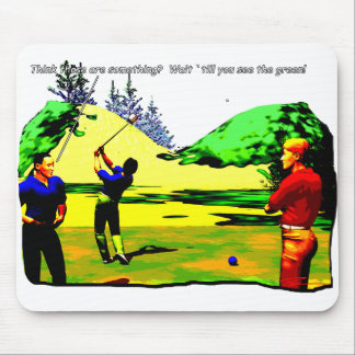 Golf - Wait for the Green Mouse Pad