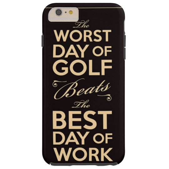 Golf & work tough iPhone 6 plus case