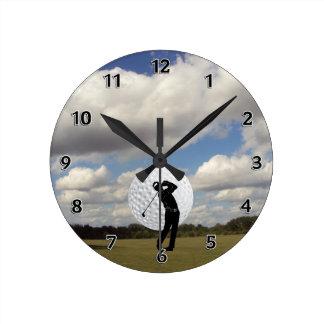 Golf World Clock