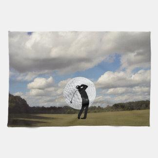 Golf World Kitchen Towel