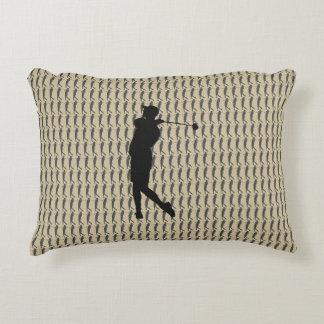 Golfer Accent Pillow
