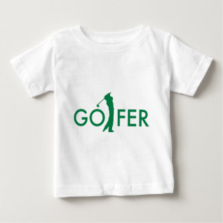 Golfer Baby T-Shirt