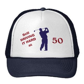Golfer Birthday 50 Trucker Hat