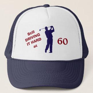Golfer Birthday 60 Trucker Hat