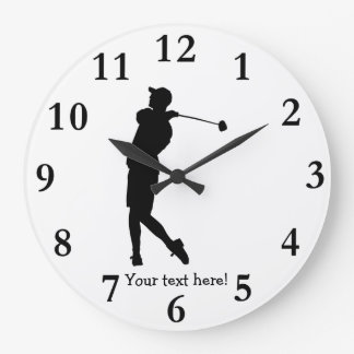 Golfer Clocks