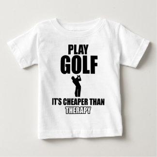 golfer designs baby T-Shirt