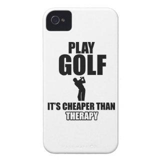 golfer designs Case-Mate iPhone 4 cases