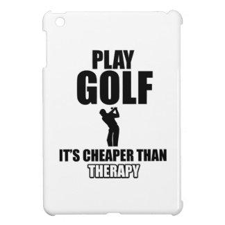 golfer designs cover for the iPad mini