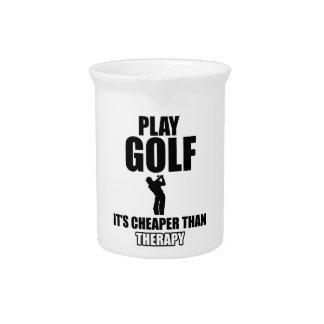 golfer designs pitcher