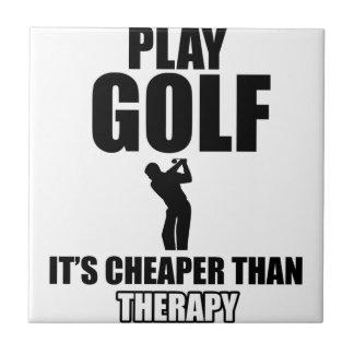 golfer designs tile