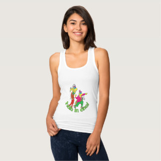 Golfer getting a Hole in one Tank Top