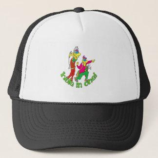 Golfer getting a Hole in one Trucker Hat