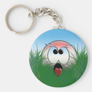 Golfer Gift Idea Golf Player Golfball Humor Funny Basic Round Button Keychain