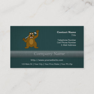 Funny golf business cards profile cards zazzle ca golfer gopher just gofer it business card colourmoves