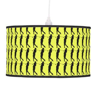 Golfer Hanging Lamp