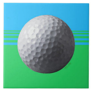 Golfer Inside large tile