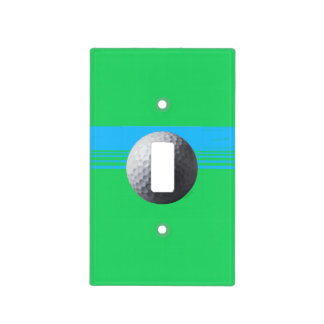 Golfer Inside light switch cover single toggle