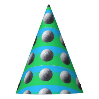 Golfer Inside party hats