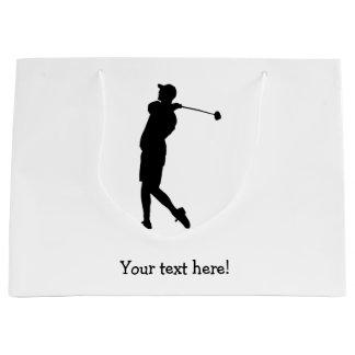 Golfer Large Gift Bag