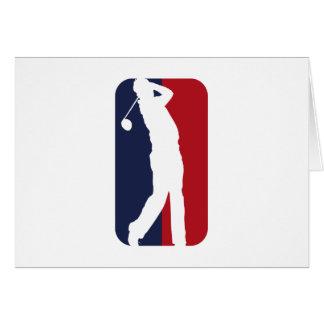 Golfer Liga Card