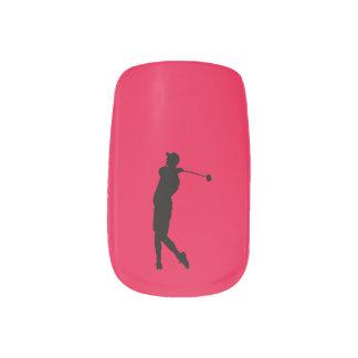 Golfer Minx Nail Art