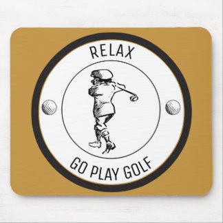 Golfer Mouse Pad