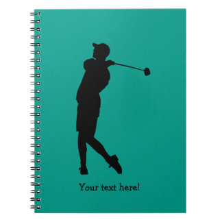 Golfer Notebooks
