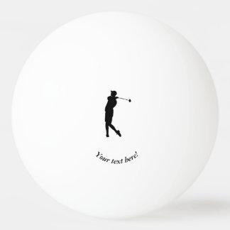 Golfer Ping Pong Ball