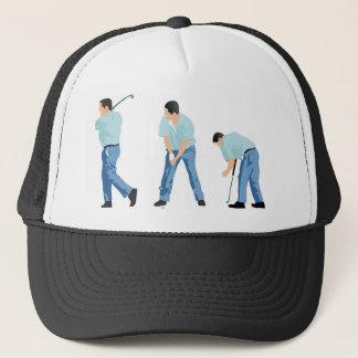 Golfer Sequence Trucker Hat