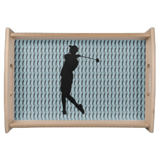 Golfer Serving Tray