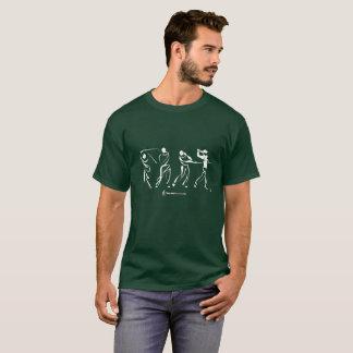 Golfer Silhouette Shirt