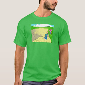 Golfer Stuck in a Bunker T-Shirt