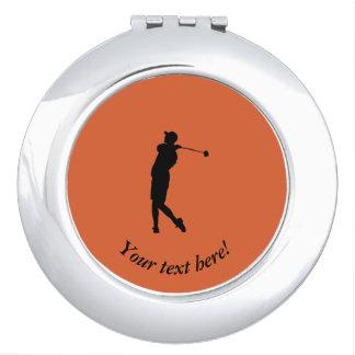 Golfer Vanity Mirror
