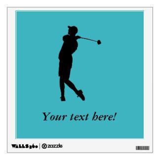 Golfer Wall Sticker