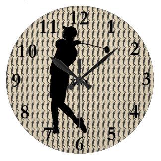 Golfer Wallclock