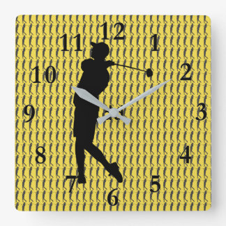 Golfer Wallclocks