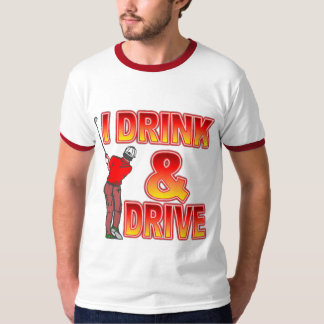 Golfers Beer Drinking T-Shirt