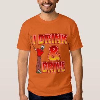 Golfers Beer Drinking Tshirt