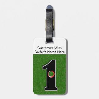 Golfer's Dream - Hole in One! Luggage Tag