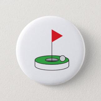 Golfer's pin