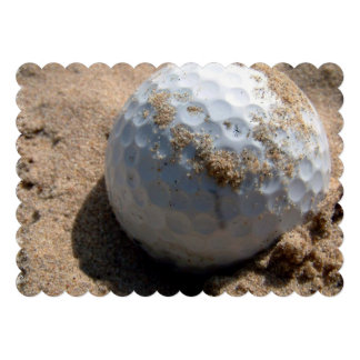 Golfeur Invitations