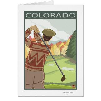 Golfeur SceneColorado Carte