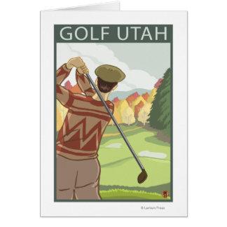 Golfeur SceneUtah Carte
