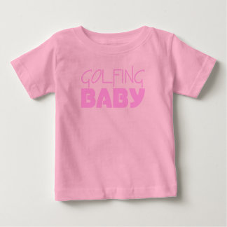 Golfing Baby Girl T-shirts or Infant One Piece