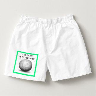 golfing boxers