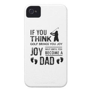 Golfing Dad Case-Mate iPhone 4 Case