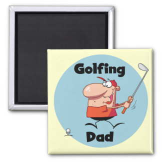 Golfing Dad Tshirts and Gifts Refrigerator Magnets
